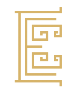 Elysian luxury hotel and spa logo single element