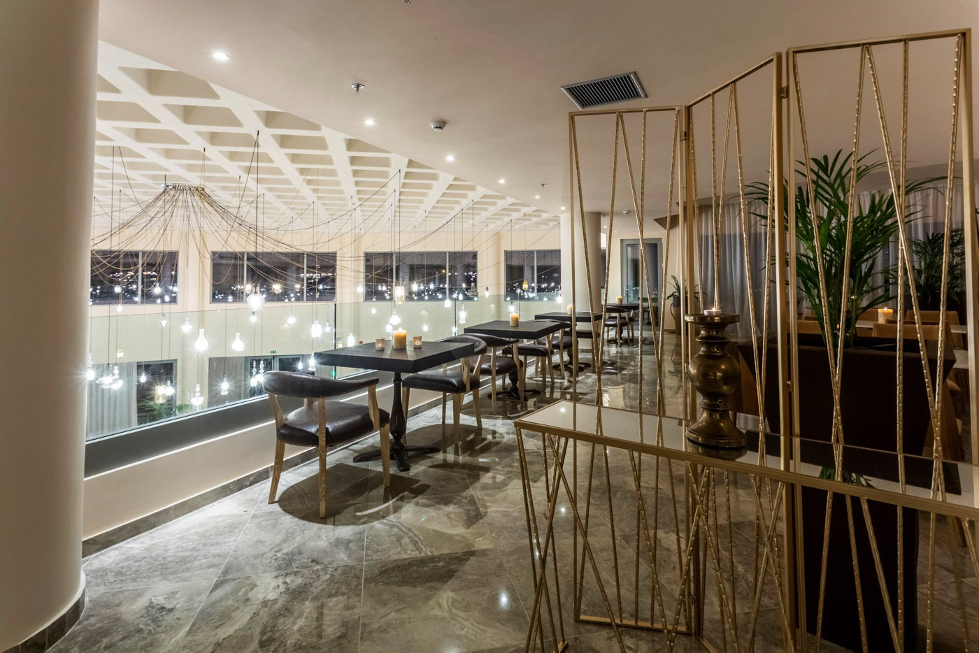 Elysian luxury hotel and spa Kalamata inside bar