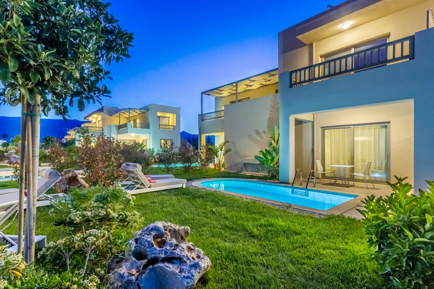 Elysian luxury hotel and spa Kalamata executive exterior suite