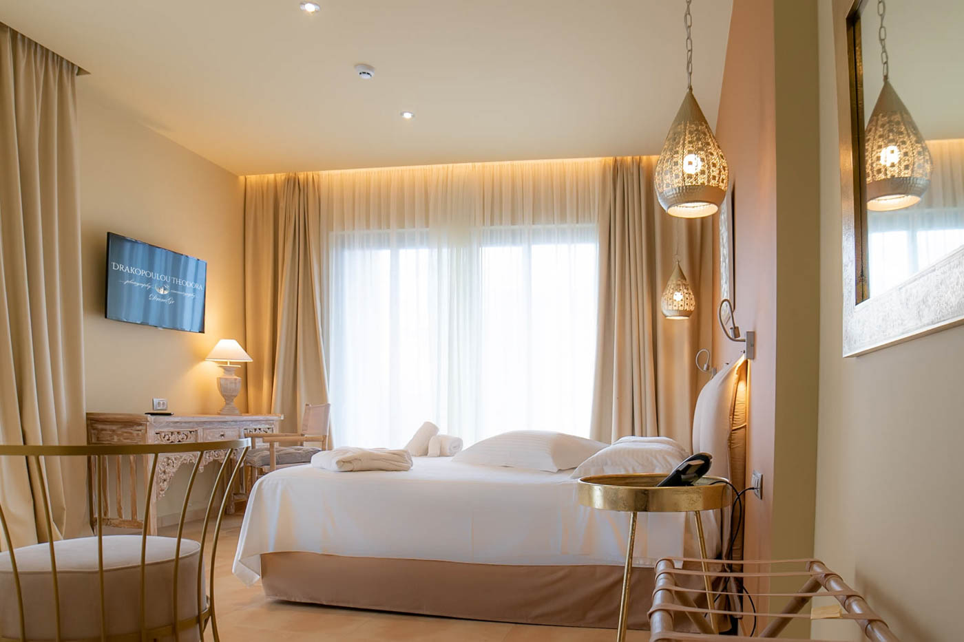 Elysian luxury hotel and spa Kalamata Junior suite