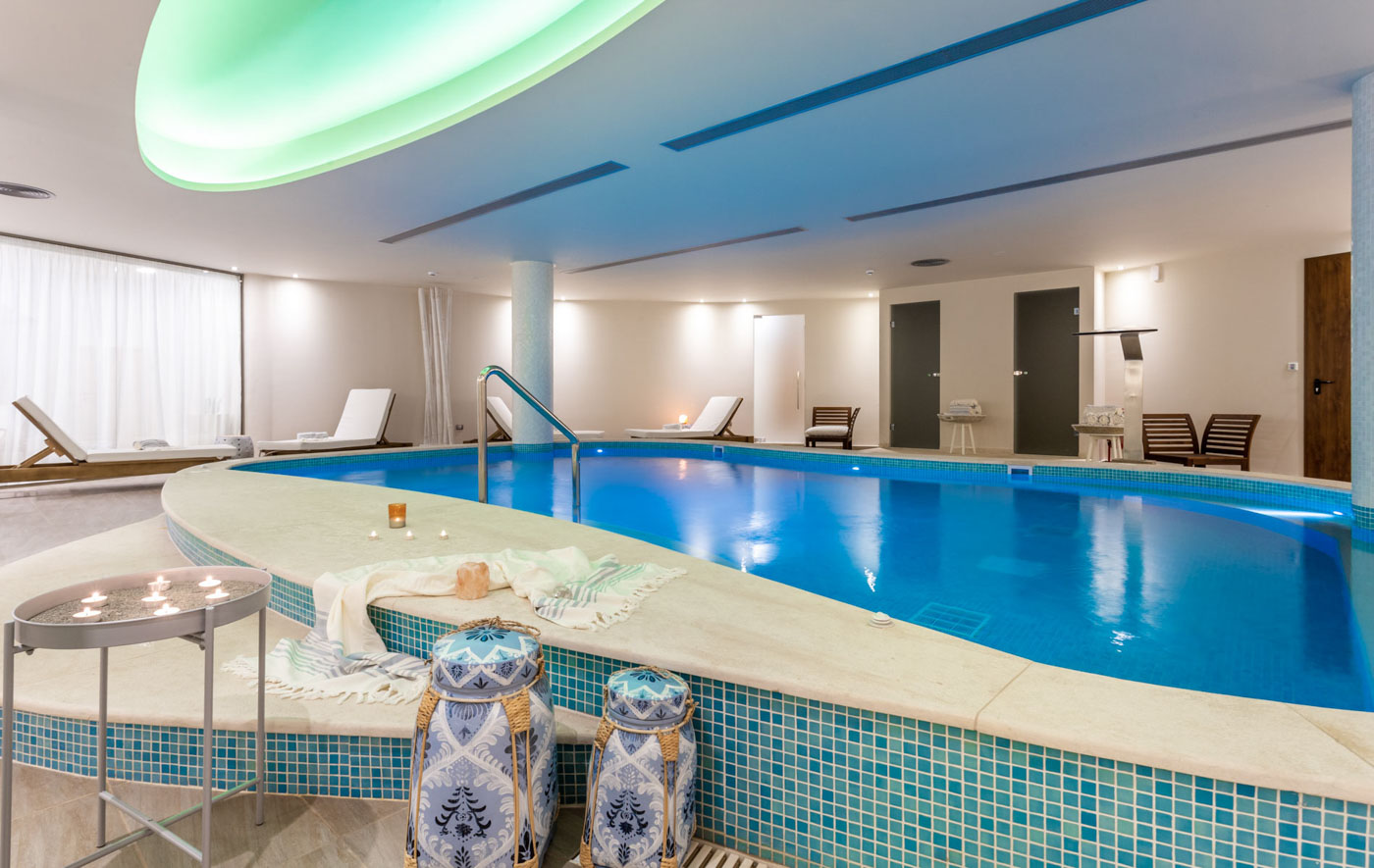 Elysian luxury hotel and spa Kalamata internal pool