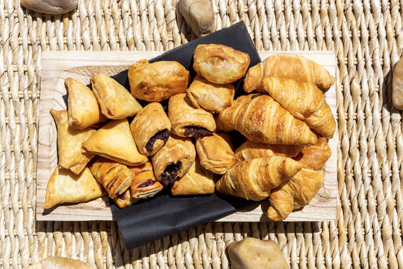 Elysian luxury hotel and spa Kalamata croissants