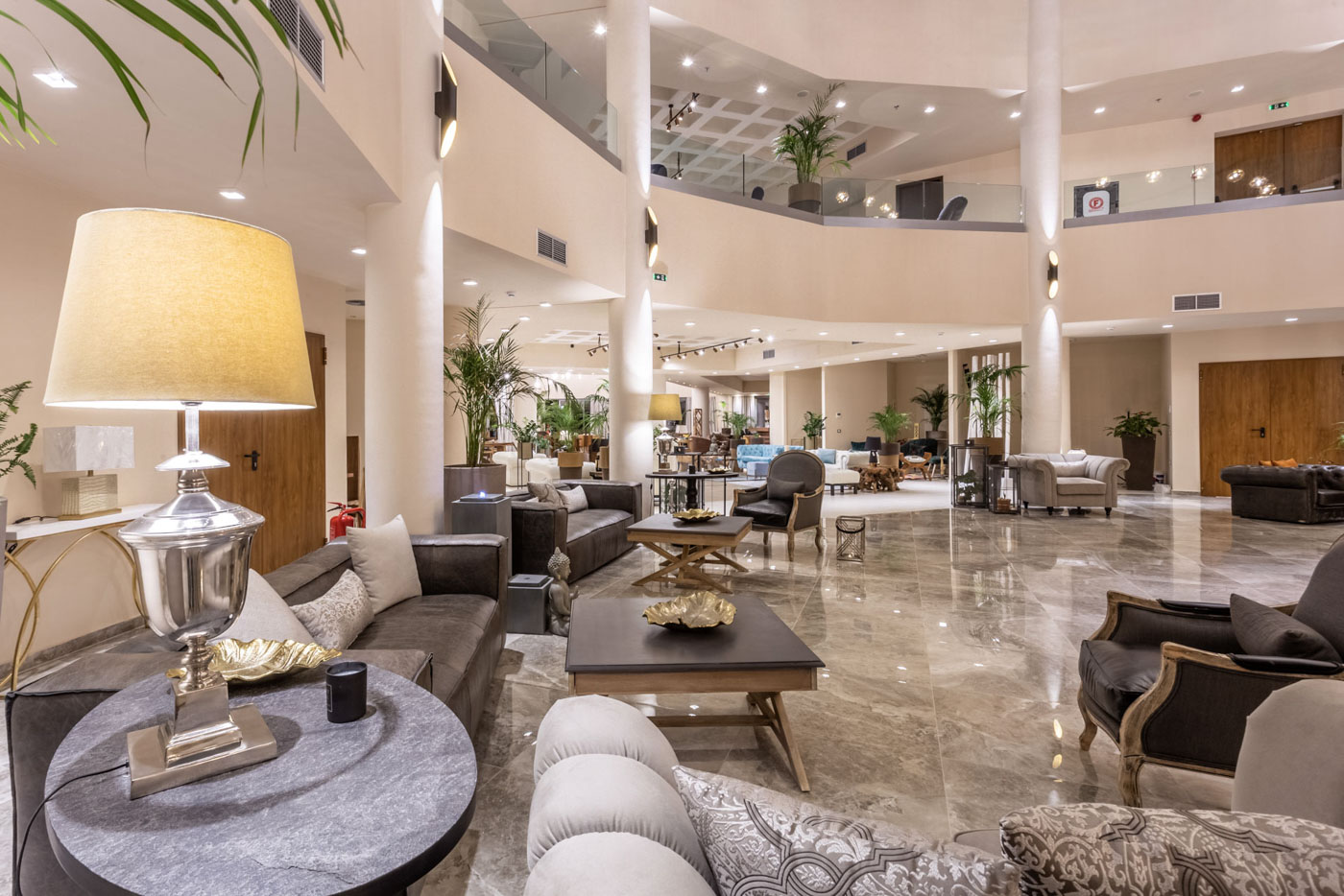 Elysian luxury hotel and spa Kalamata interior